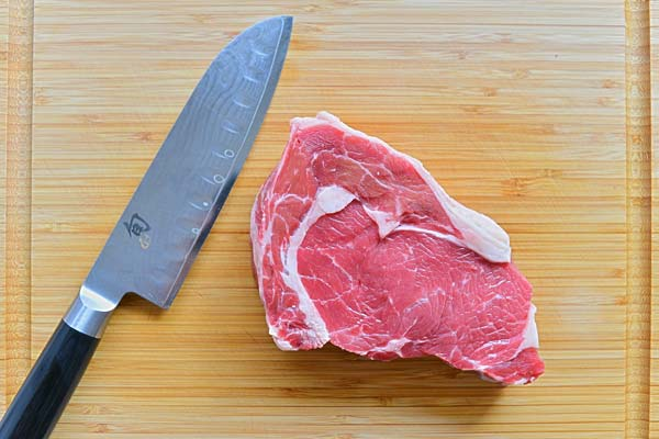 meat and meat for cutting