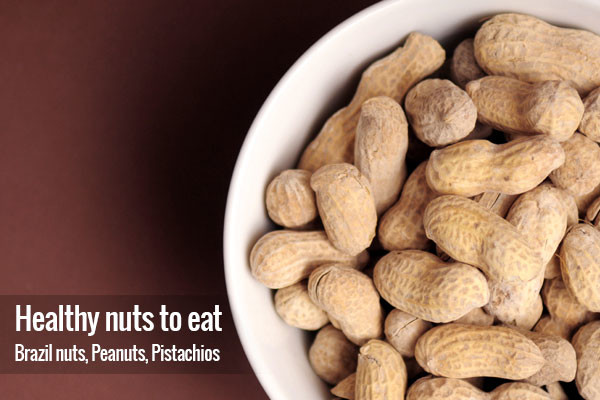 Healthy nuts to eat