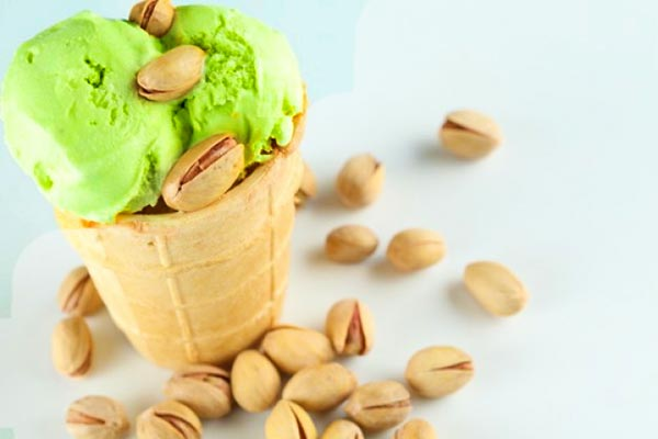 Pistachio icecream