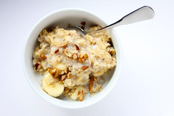 oatmeal from the refrigerator