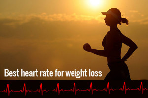 woman running with heart rate lifline