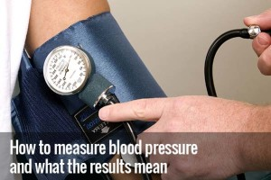 How to measure blood presssure