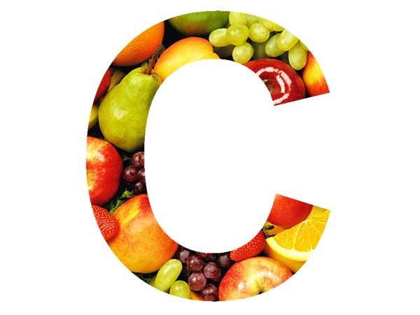 vitamin C in fruits and apples