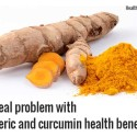 The problem with turmeric health benefits