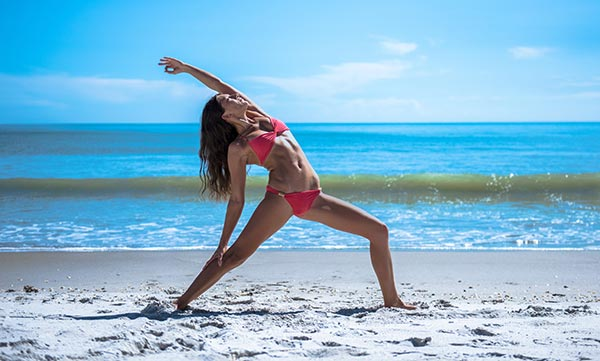 Yoga helps to stay focused